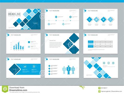 design and layout of business presentation business presentation design background template stock