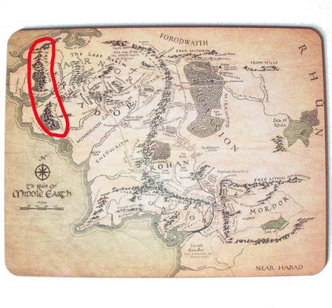 middle earth map tolkiens legendarium what is the relationship between