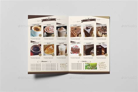 coffee shop menu templates coffee shop menu template by wutip2 graphicriver