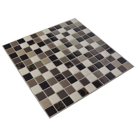 bathroom adhesive tiles diy vinyl tile backsplash adhesive wall covering for
