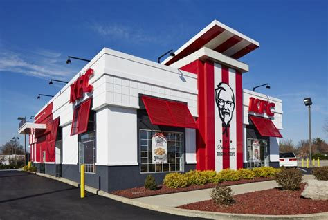 kfc store layout kfc plans to give its brand a finger licking refresh