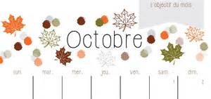 Calendrier d octobre 2016 224 imprimer sarah etcetera