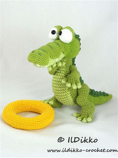 amigurumi alligator pattern patterns crochet and shops on pinterest