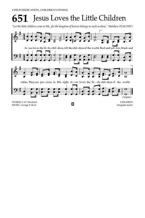 Jesus Loves the Little Children | Hymnary.org
