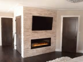 interior with stone fireplace designs gas trend home posh small spaces rustic interior decors added stacked