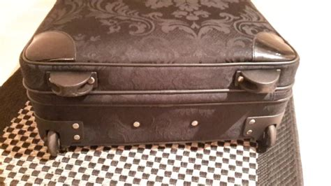 Tripp Luggage Pleasure Collection By Jasper Conran by Jasper Conran At Tripp Black Opulence Damask Wheeled Tote