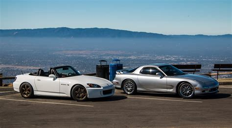 1993 mazda rx7 vs 2007 honda s2000 to review