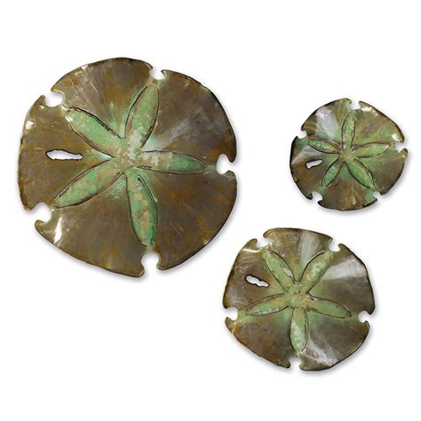 Collectic Home by Sand Dollars Wall Sculpture Set Collectic Home