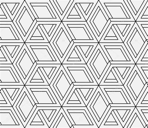 svg pattern style seamless geometric pattern in op art design vector art