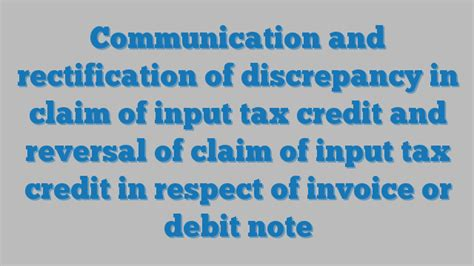 section 45 tax credits communication and rectification of discrepancy in claim of
