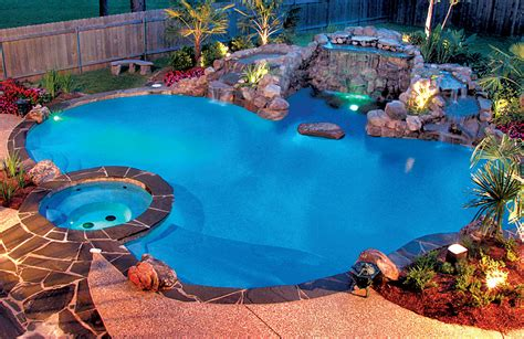 in ground pool lighting options swimming pool lighting