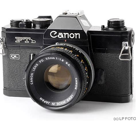 canon: canon ftb ql price guide: estimate a camera value