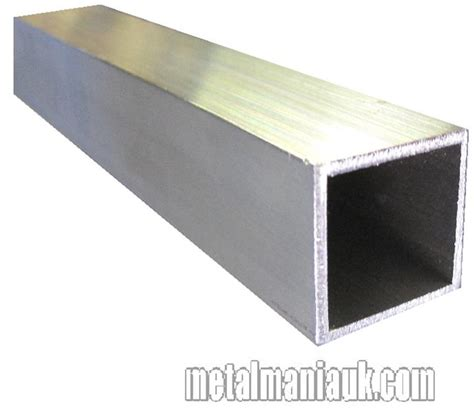 section box aluminium box section 1 inch 25 4mm x 1 inch x 1 5mm