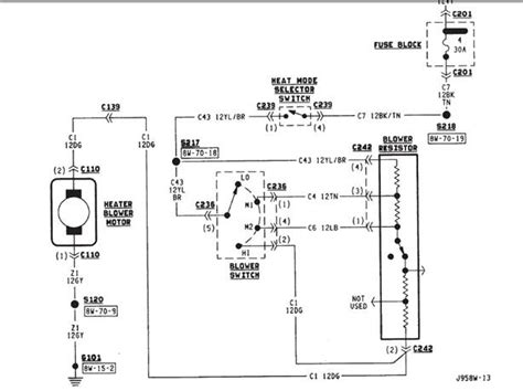blower motor wiring diagram fuse box and wiring diagram