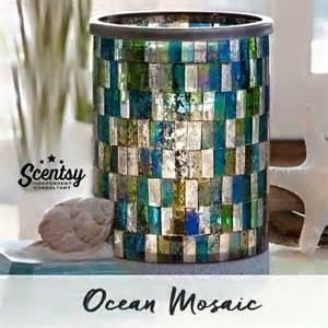 Fall Scents beautiful ocean mosaic scentsy warmer scentsy candles