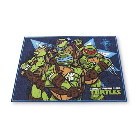 mutant turtles area rug nickelodeon 40 x 45 area rug mutant turtles home bed bath bedding