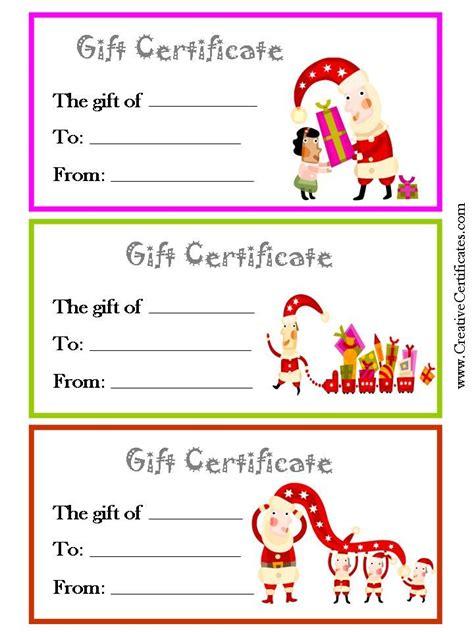pin  annika eubanks meriwether  gift cards christmas gift certificate template gift