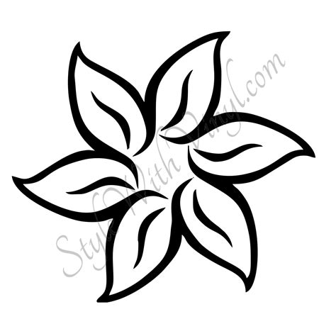 how to doodle easy flowers simple flower drawing ideas draw easy flower drawings