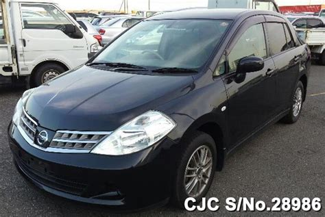 nissan tiida 2008 black 2008 nissan tiida latio black for sale stock no 28986