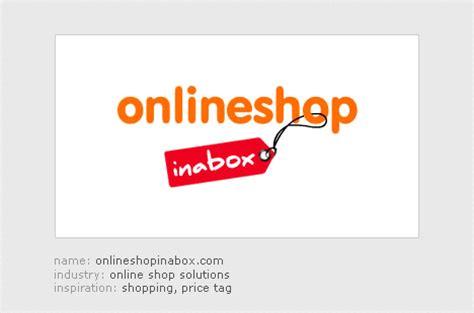 onlineshopinaboxcom logo design  behance