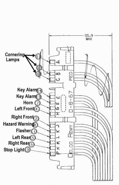 horn wiring from steering column corvetteforum