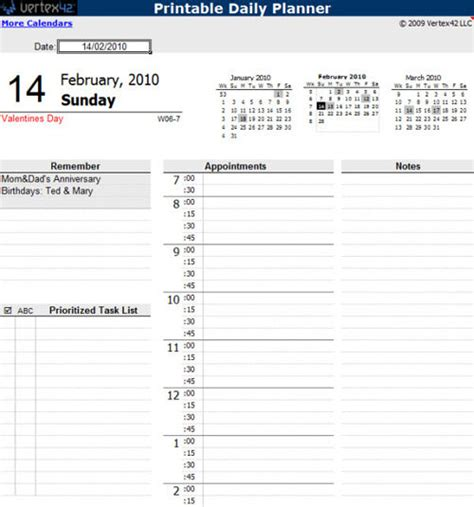 excel document themes microsoft word daily planner template