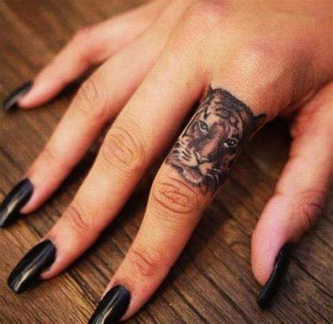 female finger tattoos 40 finger designs for