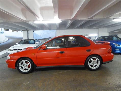 subaru impreza wrx jdm used 1999 subaru impreza 2 0 wrx turbo 4wd jdm for sale in