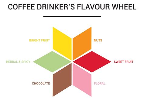 This Coffee Drinker?s Flavour Wheel from Belgium is an Interesting Marketing Idea   Daily Coffee
