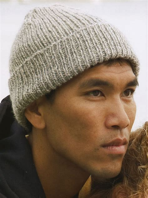 mens knit hat pattern knit a simple ribbed toque canadian living
