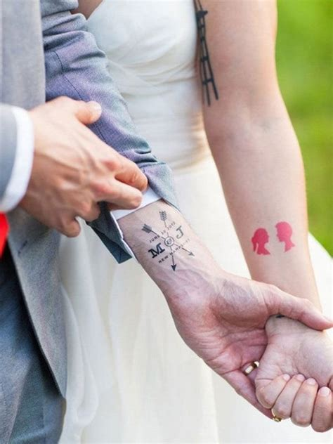 small matching tattoos for husband and wife 100 imaginative sets for couples and individuals