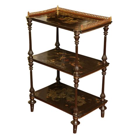 etagere antik antique export lacquer etagere 19th century for