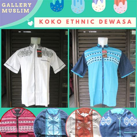 Koko Murah Dewasa distributor baju koko etnik pria dewasa murah di bandung