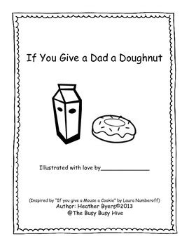 if you give a a donut if you give a a doughnut a s day story tpt