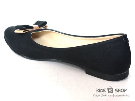 Flat Shoes Pita Wanita Coffe jual flat shoes hitam pita doff krem sepatu wanita bide