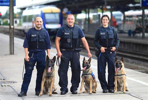 wann sind die einstellungstest bei der polizei diensthunde bei der bundespolizei 171 die hunde sind teil