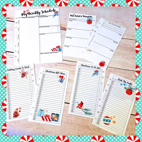 christmas planner printable free christmas planner free printables the scrap shoppe