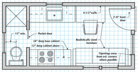 how to draw blueprints for a house how to draw a tiny house floor plan