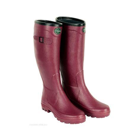 wellington boot le chameau city alltracks wellington boots city
