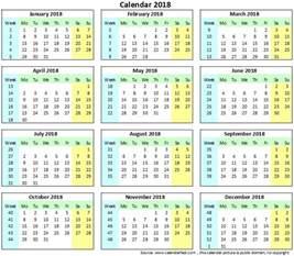 Brazil Kalendar 2018 2018 Kalender Zum Ausdrucken Free Printable