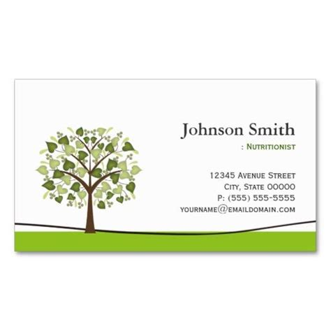 nutritionist business card templates 274 best dietitian business cards images on