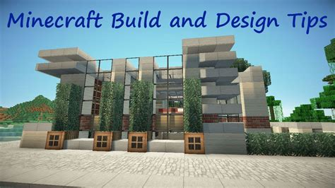 minecraft home design tips minecraft build and design tips fences youtube