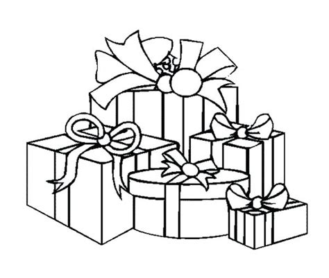 coloring pages birthday presents present coloring sheet gulfmik 014211630c44