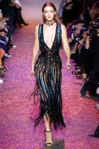 Gigi Hadid Neckline Dress elie saab 2017 summer