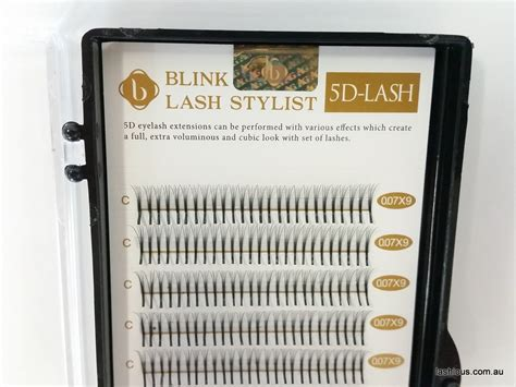 premade volume lash fans blink 5d pre made volume lashes lashious australia