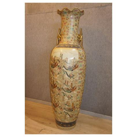 vasi satsuma vaso stile satsuma di grandi dimensioni marco polo