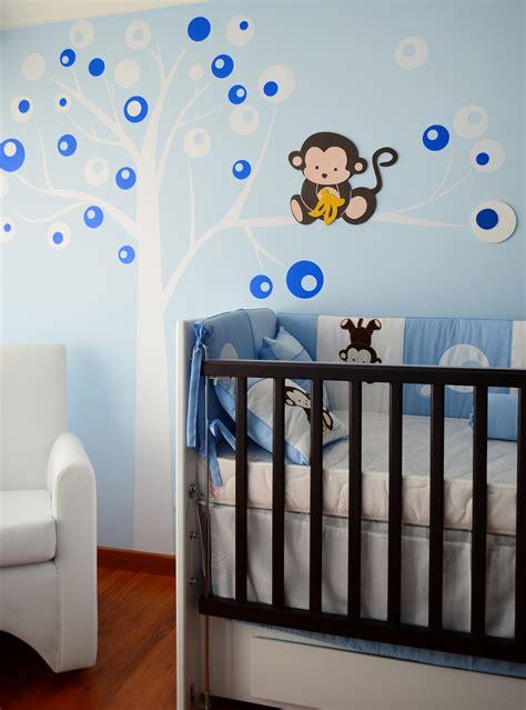 decoracion pared bebes monito para pared bebe cuarto ni 241 o mono