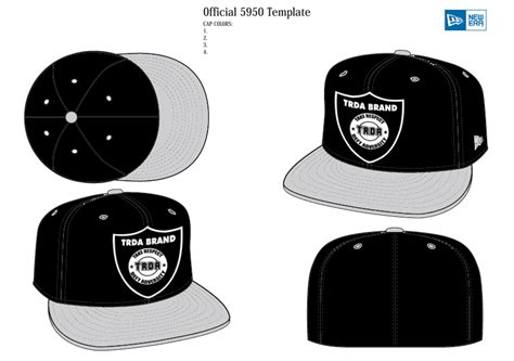 snapback template vector hat template images
