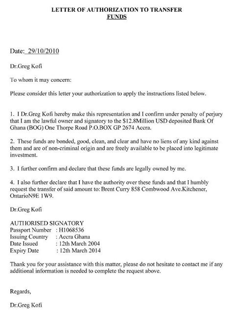 authorization letter  claim writing  authorization letter  claiming documents