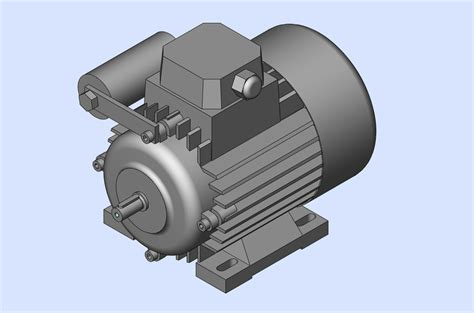 tutorial solidworks motor electric motor solidworks 3d cad model grabcad